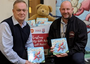 richard bland ab gets his wings charity donation self-publishing silver wood books