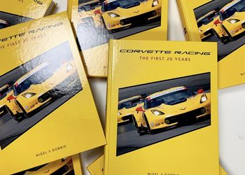 Self-Published Corvette Racing Nigel Dobbie