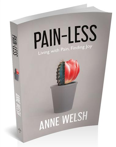 Book cover for 'Pain-Less' by Anne Welsh