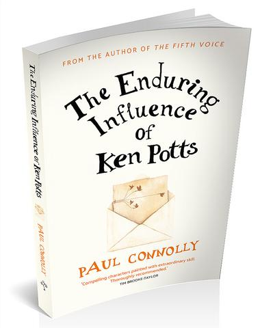 3D book cover for the enduring influence of ken Potts by Paul Connolly