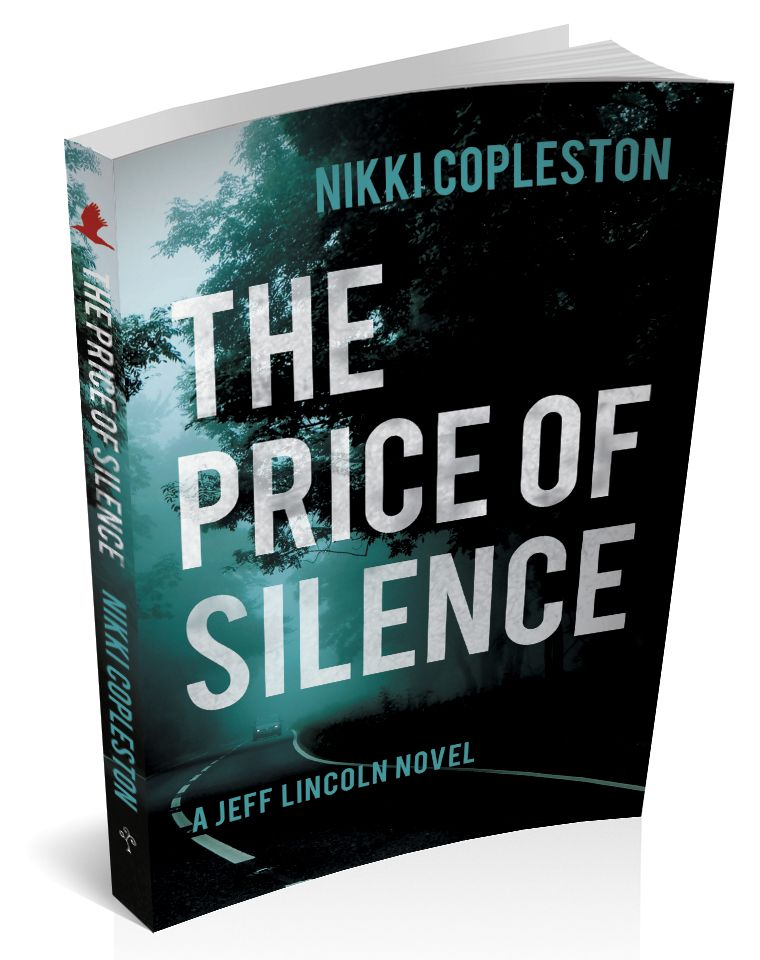 3d book cover for the price of silence by Nikki Copleston