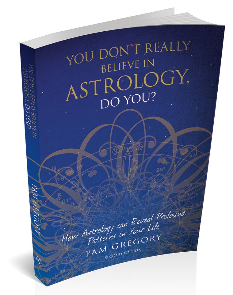 Book cover for 'You Don't Really Believe in Astrology, Do You?' by Pam Gregory