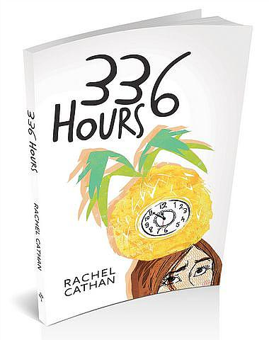 3D book cover image for '336 Hours' by Rachel Cathan