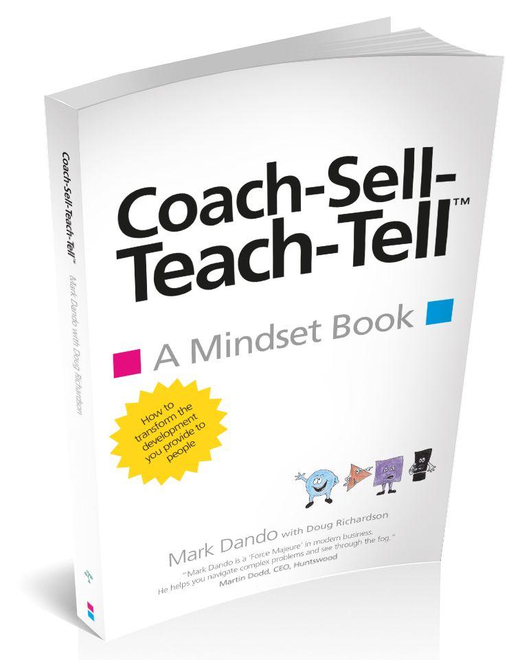 Coach-Sell-Teach-Tell™️