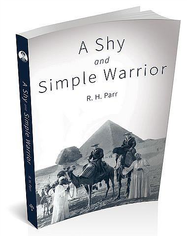 Book cover for 'Shy and Simple Warrior' by R.H. Parr