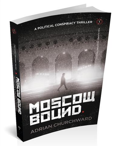 3d cover for Moscow Bound by Adrian Churchward