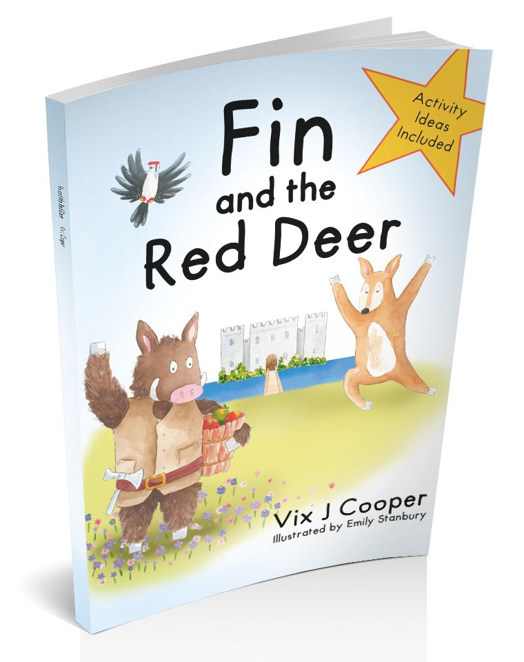 Fin and Red Deer