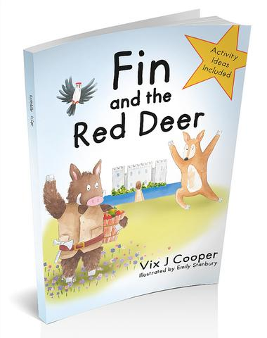 Hardback Fin and the Red Deer