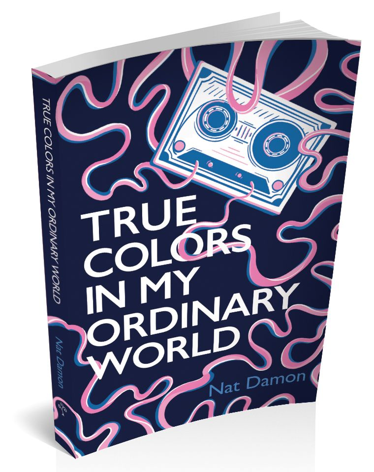 3d cover image for true colors in my ordinary world by Nat Damon