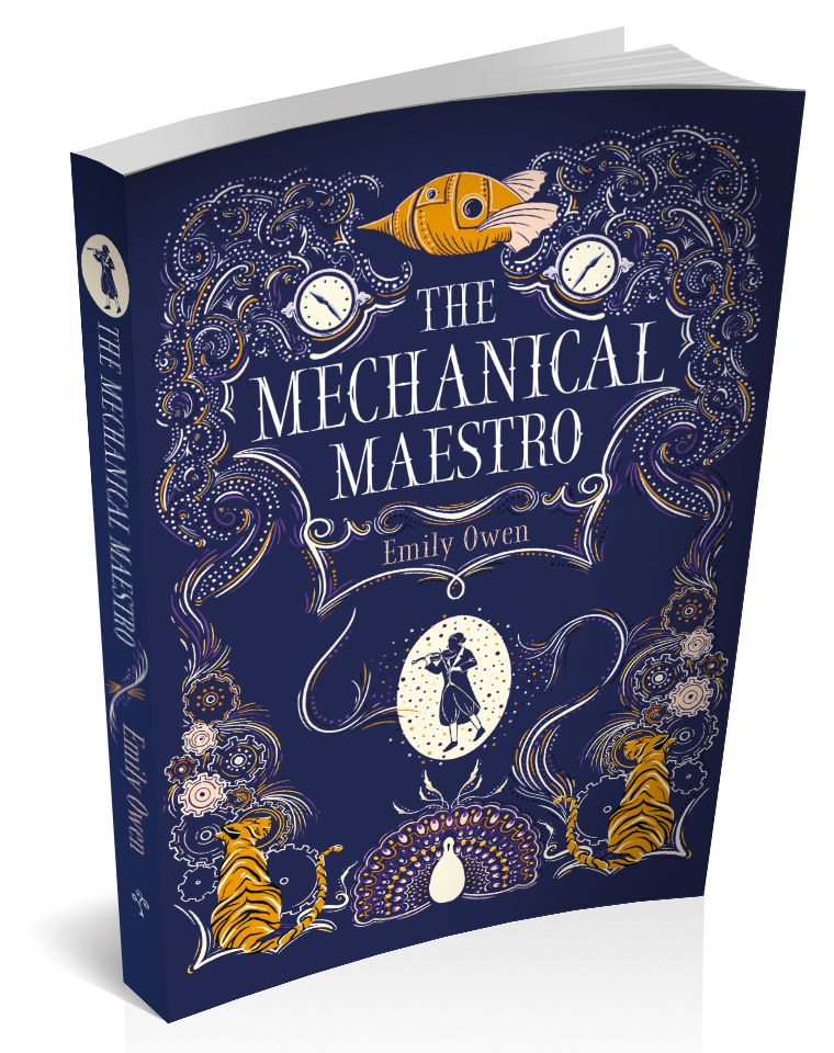 3d book cover the mechanical maestro Emily owen