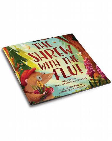 3d cover image for the shrew with the flu by will Hamilton davies