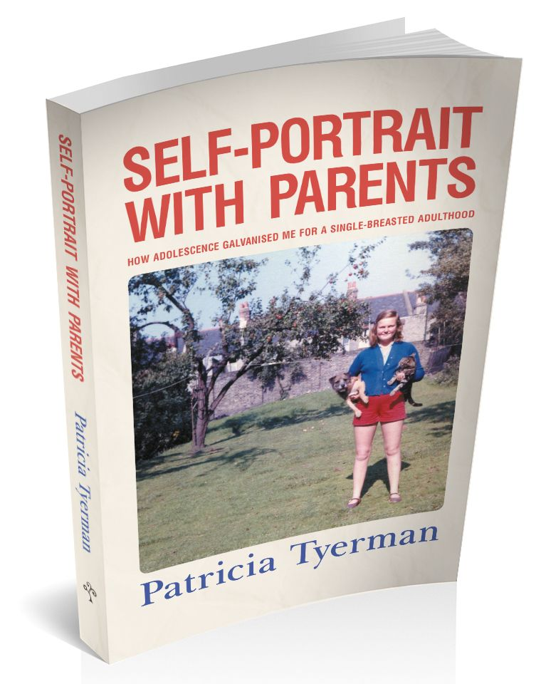 3D cover image for Self-Portrait with Parents by Patricia Tyerman