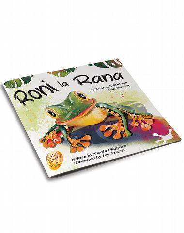 3d cover image for Roni la Rana by nicola maguire