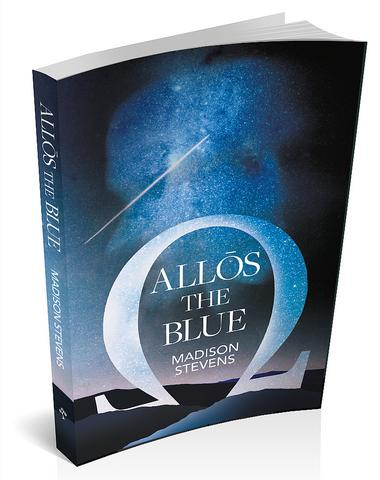 3d book cover image for Allōs the Blue by Maddison Stevens