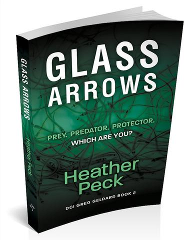 3d cover of glass arrows by Heather peck