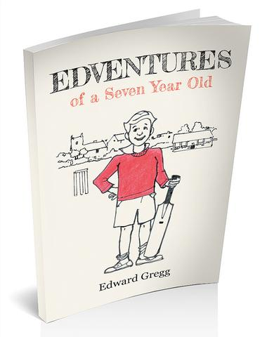 3d cover image for edventures of a seven year old by Edward gregg