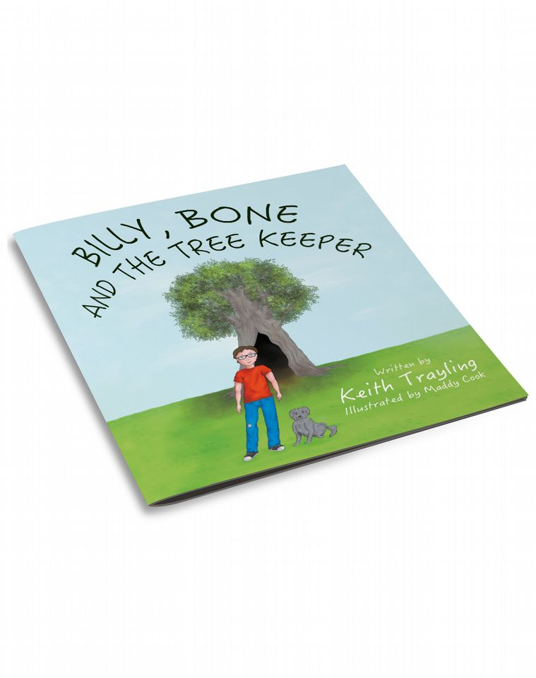 3d cover file for billy, bone and the tree keeper by Keith Trayling