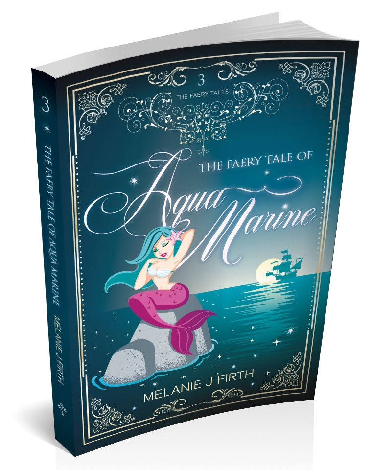3d cover image for the faery tale of aqua marine by Melanie Firth
